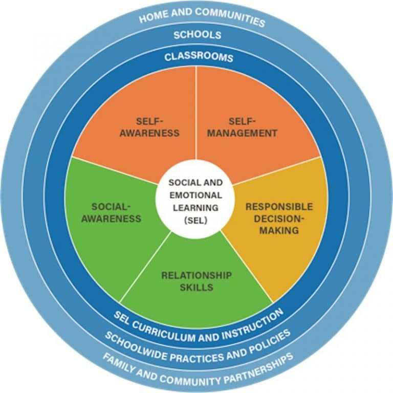 What is Social Emotional Learning - Social Emotional Learning Competencies - Graphic